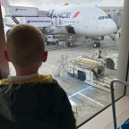 Tips for Long Haul Flights with kids – and a review of Air France :-)